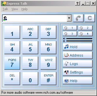 Express Talk (SIP softphone)