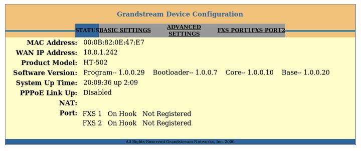 Grandstream HandyTone-502